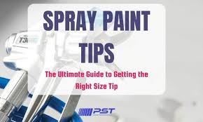 Wagner Paint Sprayer Comparison Chart The Ultimate Guide To Paint Spray Tips Sizing Charts 2019