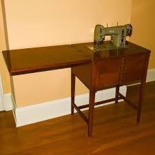 Vintage Necchi Sewing Machine Cabinet