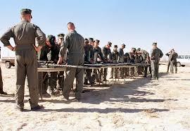 Marine Gunners Marine Instructors Instruct Student Gunners Performing Weapons