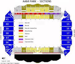 Olympic blvd, melbourne, vic 3001, australia. Rebels Aami Park Map Aami Park