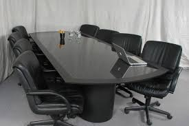 office conference table design. white leather upholstered conference office table design k