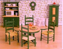 country farmhouse furniture.  Farmhouse Green U0026 Oak Farmhouse Kitchen Dining Set Clock And Chairs Not Available To Country Furniture K