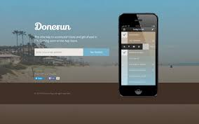 Mobile Website Template Donerun Mobile HTML24 Responsive Website Template 1