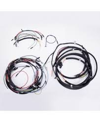 wiring harnesses electrical interior wiring harness w turn signal 46 49 willys cj2a