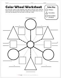 Color wheel worksheet, color theory art worksheets elementary and blank color wheel worksheet are three of main things we want to show you based on the post title. Color Wheel Worksheet Create Art With Me