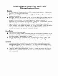 Emt Cover Letter Emt Cover Letter Lovely Respiratory Therapist Of Luxury Entry Level 3