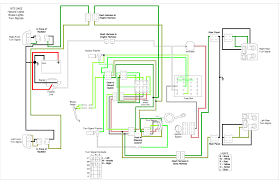 hazard switch brake light turn signal circuit analysis circuit diagram