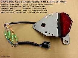 honda crfl crfl turn signals crf250l edge integrated tail light wiring