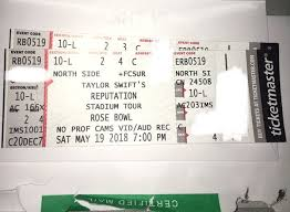 Taylor Swift At The Rose Bowl For Sale In Huntington