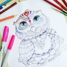 Free Printable Owl Coloring Page Printable Decor
