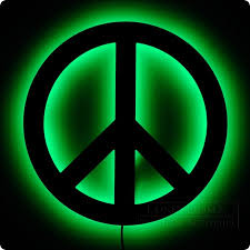 awesome peace sign wall light 86 in shell wall lights with peace sign wall light