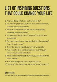 List Of Inspirational Quotes About Life Cool Life Quotes And Words To Live By List Of Inspiring Questions That