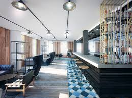 amazing office design. Bacardi Logo In Offices Bar And Reception Dual Image Amazing Office Design