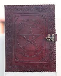 vintage brown leather portfolio handmade doents carry folder