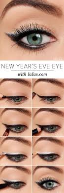 wintry silver eyeshadow tutorial 12 party perfect beauty tutorials that ll make you sparkle