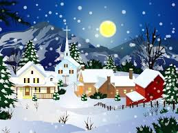 Snow Animated Animated Christmas Snow Town Best Wallpaper Download Cool Hd