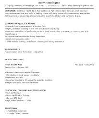 Hha Resume | Resume Cv Cover Letter