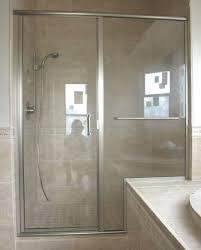 Bathroom: Astounding Semi Frameless Shower Door Ideas - Some ...