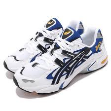Details About Asics Gel Kayano 5 Og White Black Blue Mens Retro Running Shoes 1191a099 101