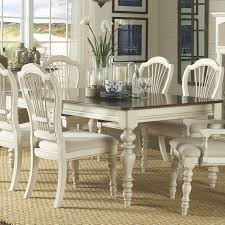 Hillsdale Dining Table Dining Table With Turned Legs By Hillsdale Wolf And Gardiner