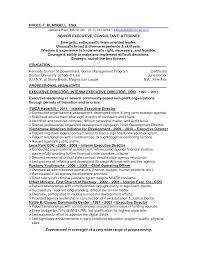 Non Profit Resume Cover Letter Sidemcicek Com
