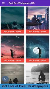 HD Sad Boy Wallpaper for Android - APK ...