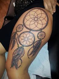Dream Catcher Tattoo On Thigh 100 Best Ideas About Dreamcatcher Tattoo Thigh On Pinterest Dream 19