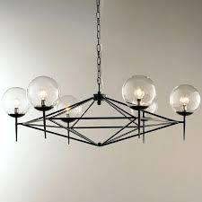 creative mid century chandelier images modern pyramid glass globes chandelier mid century chandelier brass