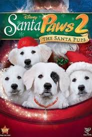 ver santa paws 2: the santa pups poster