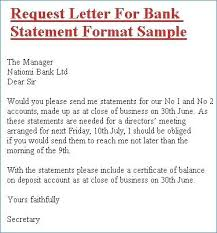 Sales Letter Template Word Best Of Best Bank Statement Request