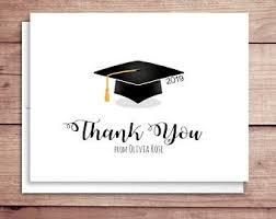 Graduation Thank You Note Graduation Thank You Etsy