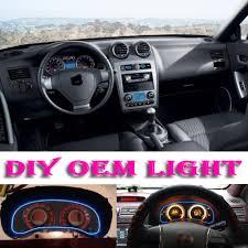 Tiburon Check Engine Light Car Atmosphere Light Flexible Neon Light El Wire Interior