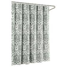 gray and green shower curtain. creative home ideas biltmore cotton luxury 72 in. x l shower curtain gray and green