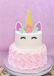 Unicorn Cake Topper Happy Birthday Cake Decoration Gold Sliver And