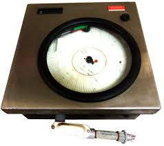 Dr45at 1100 00 000 0 500n00 0 Honeywell Dr4500a Digital Circular Chart Recorders
