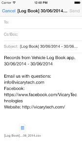 Vehicle Log Book App Vehicle Log Book Pro Apps 148apps
