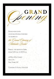Grand Opening Invitations Grand Opening Confetti