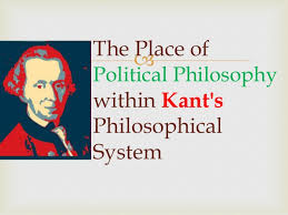 immanuel kant on political philosophy  kant s philosophical system 14