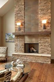 decorating around stone fireplace ideas for large fireplaces veneer mantels