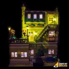 Parisian Restaurant Lighting Kit Toys Games Led Light Lighting Kit Only For Lego Creator