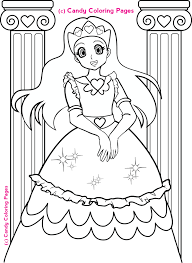 Coloring Pages Free Princess Coloring Pages Penny Candy Coloring