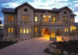 10 000 square foot stone stucco mansion in colorado springs co homes of the rich