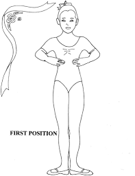 Coloring Pages Ballerina Coloring Ballet Beautiful First