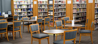 Library seating furniture Table Paramus Public Library Furnishings Zoom Inc Library Furnishings Library Furniture From Creative Library Concepts