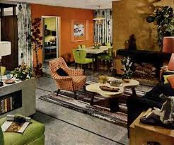 1950s. English trends on Interior Design