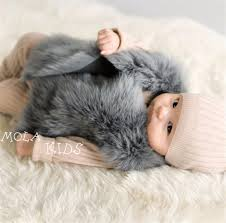 baby fur coat real fur clothes infant winter vest toddler boys girl winter waistcoat toddler faux