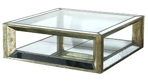 square mirrored coffee table mirror top large size of