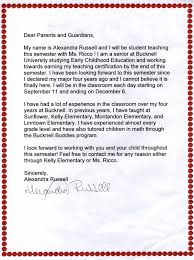 letter from teacher to parents 26 images of teacher parent communication letter template