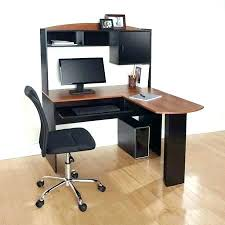 office computer table design. Walmart Computer Desk Table Study Corner L Shaped With Hutch Black And Cherry . Office Design