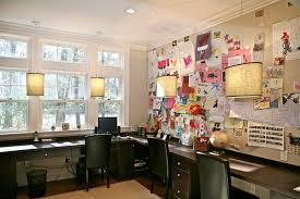 office wall artwork home office contemporary with dark wood floor dark wood floor wood floor blue home office dark wood